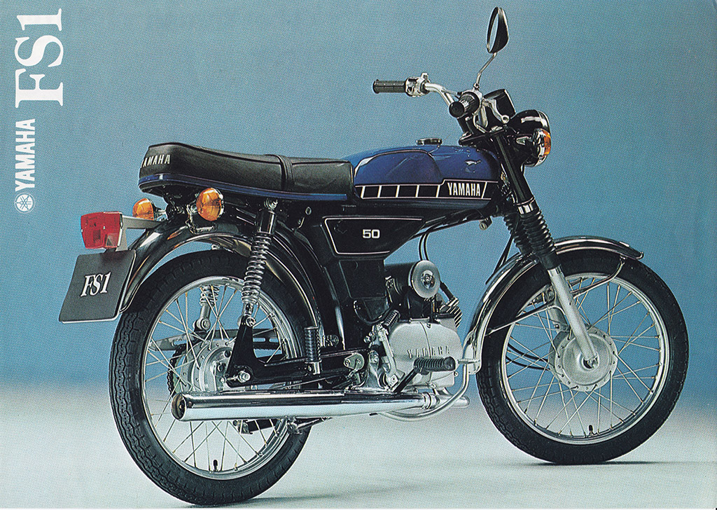 1978 80 YAMAHA FS1 M 2G0 FRENCH METALLIC BLUE   BROCHURE
